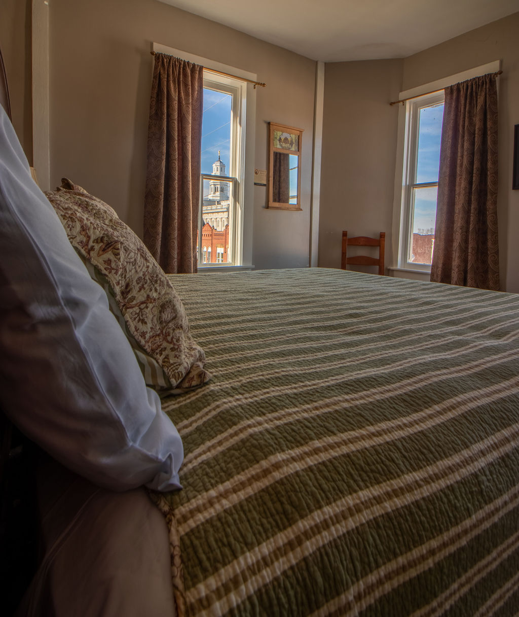 Nauvoo Hotel grand suite window view